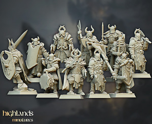 Chaos Warrior Unit of 10 by Highlands Miniatures
