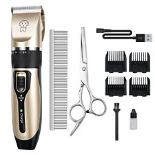 Pet Professional Dog Grooming Clippers Kit For Dog Cat Hair Trimmer Scissors Set