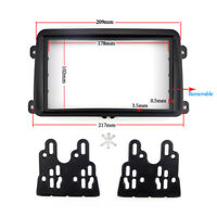 Car Multimedia Player Accessories for VW Passat B6 Installation Accessory 102mm