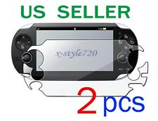 2x Sony PlayStation Vita Full Clear LCD Screen Protector Guard Cover Film