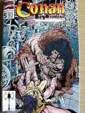 Conan L'Avventuriero n°5 1995 ed. Marvel Italia  [G.195]