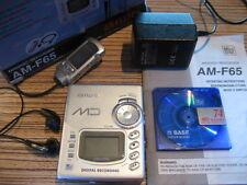 AIWA AM - F 65  Discman Mini MD + Fernbedienung Minidisc rec. + Anleit. + Karton