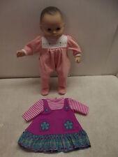 AMERICAN GIRL PLEASANT COMPANY ORIGINAL BITTY BABY DOLL PEACH SLEEPER BROWN EYES