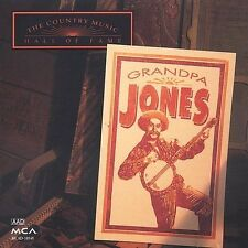 GRANDPA JONES-THE COUNTRY MUSIC HALL OF FAME CD