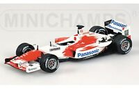MINICHAMPS 400 040186 Panasonic Toyota Racing F1 model car Launch version 1:43rd