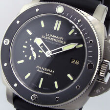 UNWORN PANERAI PAM 389 LUMINOR SUBMERSIBLE 47 mm TITANIUM AMAGNETIC PAM 00389