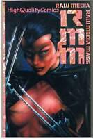 RAW MEDIA MAG #1, FN+, Tim Vigil, David Quinn, 1991, more indies in store