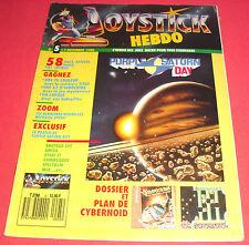 Magazine Joystick Hebdo [n°5 7 Déc 1988] Amstrad CPC Amiga Atari ST MSX *JRF