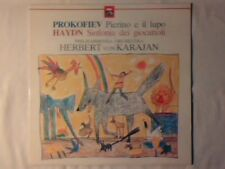 HERBERT VON KARAJAN Prokofiev Pierino e il lupo Haydn Sinfonia dei giocattoli lp