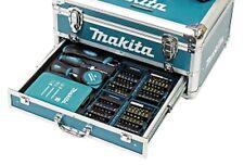MAKITA Koffer mit Zubehörset 96 tlg. Bohrer Satz 18tlg. 2x Bit Set 37tlg. DHP453