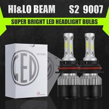 3-Sided 9007 HB5 LED Headlight Conversion Kit 1320W HI-LO Dual Beam Bulbs 6500K