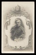 antica cartolina SAN PIO X PAPA