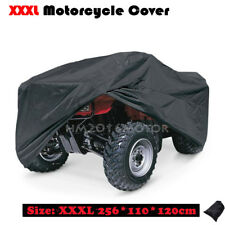 XXXL Black ATV Quad Bike Cover Fits Suzuki KingQuad Quadmaster QuadSport Eiger