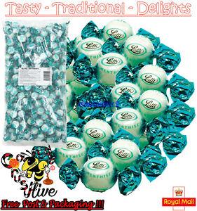 1 - 1000 Lutti Peppermint Mint Cream Fondants Sweets Clarnico Retro Candy