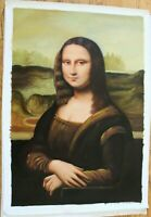 """Mona Liza Hand Painted High Quality Oil Painting on Canvas 24""""x 36"""""""