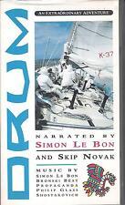 "SIMON LE BON - RARA VHS 1987 "" DRUM   AN EXTRAORDINARY ADVENTURE "" DURAN DURAN"