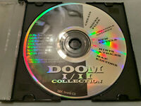 Doom I/II 1+2 Collection - PC Computer CD Video Game Expansion (Disc Only) NICE!