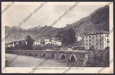 BRESCIA CORTENO GOLGI 07 PONTE - VAL CAMONICA Cartolina viaggiata 1937