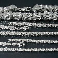 Königskette 925 Silber massiv Kette Collier Armband Sterlingsilber Schmuck VE24