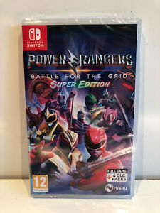 NINTENDO SWITCH POWER RANGERS BATTLE FOR THE GRID SUPER EDITION Neuf