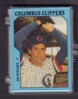 1985 Columbus Clippers Team Card Set w/Jim Deshaies++jhml