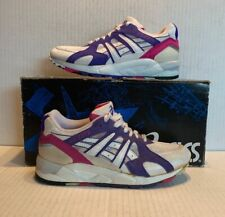 Vintage Womens Asics Gel Lyte Blue Berry 6.5 Ds Display Model