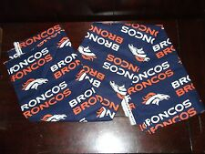 Nfl Broncos Football Team Fabric 5' X 3.2' (60 inches x 38 inches ) Nflp# 2507