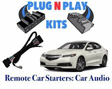2015-2019 ACURA TLX PUSH TO START PLUG & PLAY REMOTE CAR STARTER USES OEM REMOTE