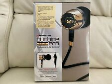MONSTER TURBINE GOLD PRO IN EAR PHONES SPEAKERS FOR IPHONE IPAD IPOD