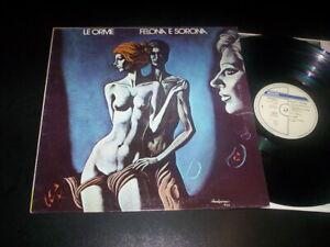 "Le Orme ""Felona E Sorona"" LP  Philips – 6323 023 A Italy"