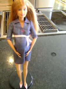 Barbie Happy Family Pregnant Midge Doll -- Ink on Ankle