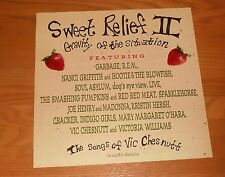 Sweet Relief II Gravity of the Situation Poster Flat 1996 1996 Promo 12x12