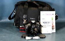 Canon EOS 70D w/ Canon EF 50mm f1.8 STM Lens, Canon Bag & Manuals