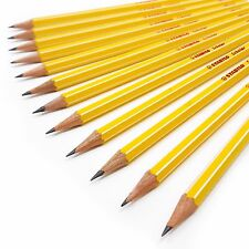 Stabilo Scholar HB School Pencils - Writing Sketching Drawing Pencils Set of 12
