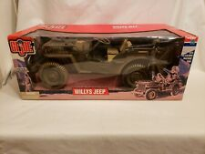 HASBRO 1/6 G.I. JOE WWII WILLYS JEEP LIMITED EDITION