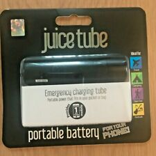Juice Tube Portable Battery Power Bank. IPhone/Mobiles charger BLACK