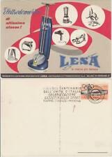 ELETTRODOMESTICI LESA CARTOLINA + TARGHETTA GIRO D'ITALIA DEL CENTENARIO 1961