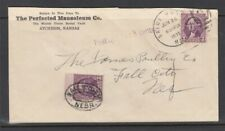 1935 Postage Due PERFECTED MAUSOLEUM - Cemetery cover
