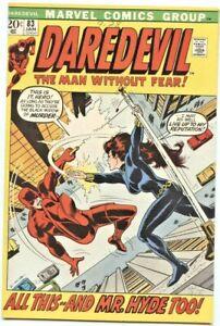 Marvel Comics: Daredevil #83 (1st Series)  VF