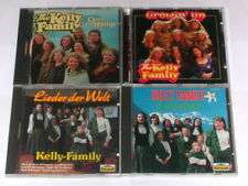 CD Sammlung DIE KELLY FAMILY - 4 Alben Growin´up, Greensleeves, over the hump