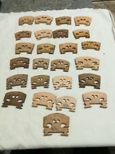 25 X Violin Bridges, Job Lot, Aurbert, Dresden, Panpi