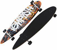 Tempsih Longboard Skateboard 110cm ABEC-7 high speed chrom NEU