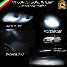 KIT LED INTERNI LANCIA NEW YPSILON Y (846) CONVERSIONE COMPLETA + LED TARGA