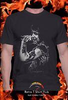 BON SCOTT TRIBUTE Rock n Roll Legend  Retro  MEN'S & WOMEN'S T SHIRT & SINGLET