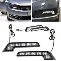 Car Auto Daytime Running Light 6LED DRL Fog Drive Daylight White Head Lamp SE 2x