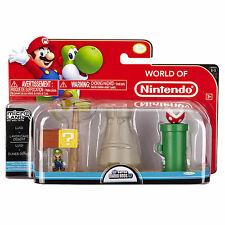 Nintendo Super Mario Bros U Micro Land Luigi Layer Cake Desert 3 Piece Pack x 4