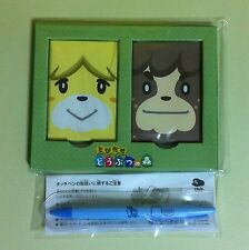 2 Items Animal Crossing Magnet / Super Mario Touch Pen Club Nintendo JAPAN USED