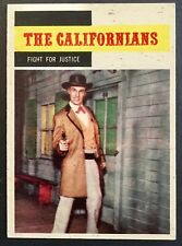 Vintage 1958 Topps TV WESTERNS card #70 FIGHT FOR JUSTICE combined ship