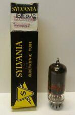 6EW6 Zenith Electronic Vacuum Tube Radio TV Electron Tubes In Sylvania Box