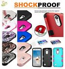 For LG Phone Shockproof HYBRID Armor Rubber Protective Rugged Hard Case Cover